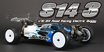 S14-3 1/10 4WD EP Off Road Racing Buggy Pro Kit